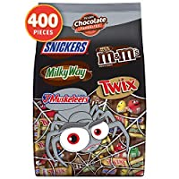 MARS Chocolate Halloween Candy Variety Mix,400 Count