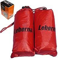 急救聚酯保暖睡袋 - 91.44 cm x 198.12 cm 91.4 cm x 213.4 cm,2 个睡袋,一盒包装,每个睡袋