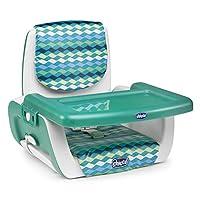意大利 Chicco 智高 便携餐椅(绿色条纹) 6个月以上 CHIC07079036790000