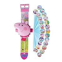【小猪佩奇投影表】抖音网红小猪手表佩奇儿童投影电子佩琪卡通手表玩具社会人动漫电子玩具表 (小猪佩奇手表2个)