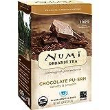 Numi Organic 巧克力普洱茶,16袋,生物降解袋 普洱红茶,优质独立茶袋,发酵普洱茶,陈年普洱茶