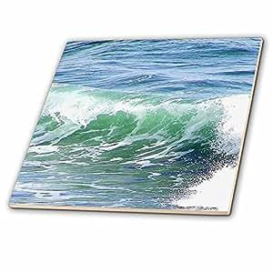 florene 水–seafoam 绿色 N 蓝色波浪 N 水–瓷砖