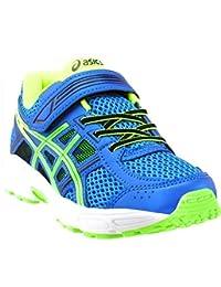 ASICS 儿童 PRE-Contend 4 TS 跑步鞋 * 4 M 美国儿童