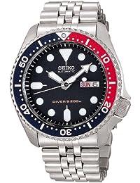 [精工import]SEIKO 手表 再进口 海外款 黑色 SKX009KD 男士