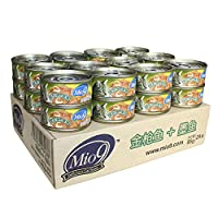 Mio9 妙9宠物金枪鱼+墨鱼猫罐头85g*24