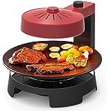 Liven 利仁 KZ-J1002 空气能烤炉(3D循环加热,旋钮火力调节,360度旋转烹饪自动控温)