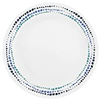 Corelle Livingware Ocean Blues 10.25 英寸餐盘 6 件套