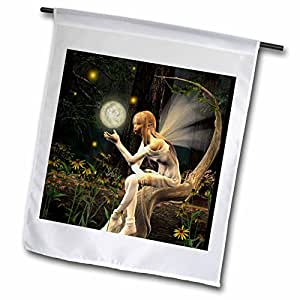 """renderly Yours fairies–FAIRY 浅球–旗帜 18"""" x 27"""""""