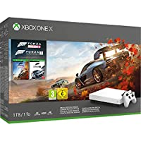 Xbox One X1TB 白色控制台 Forza Horizon 4包