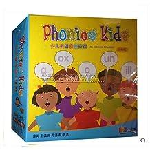Phonics Kids 少儿英语自然拼读学习启蒙教材视频光盘碟片DVD+书