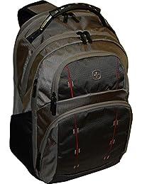 Wenger SwissGear Tandem 背包带 16 英寸笔记本电脑口袋 -灰褐色