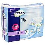Tena Slip Maxi Brief Large, White and Purple - 100-150cm