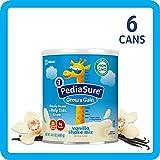 美国雅培小安素 Pediasure Grow & Gain儿童营养奶昔(2岁+) 香草味 6罐装(400g*6)