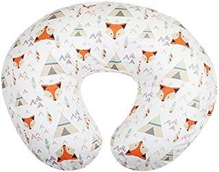 Org Store 高级哺乳枕套 | 哺乳枕套 | 适合大多数Boppy 枕(婴儿) Fox Design