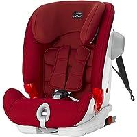 欧版Britax 宝得适儿童安全座椅百变骑士三代 ADVANSAFIX III SICT 火焰红(适合9-36kg,约9个月-12岁。带isofix硬接口,升级5点式安全带,最多可以到25kg(约6岁)。座椅角度,头枕高度多档调节。升级护肩肩带,增强防侧撞SICT功能。)(英国品牌 香港直邮)(包邮包税)