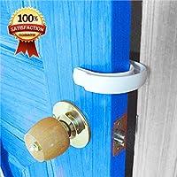 2 件装 - *学步儿童门塞,防止门在手指上闭门,手指对婴儿/儿童/宠物和狗的手指夹保护装置