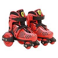 Ferrari FK10-1RED2629 My First Skate 组合套装,红色,尺码 26-29