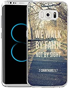 S8 PLUS 手机壳 SAMSUNG GALAXY S8 PLUS 手机壳 TPU 防滑高清印刷圣经经文 Faith IS Taking THE FIRST STEP EVEN when you Don't See THE whole staircase DS (11)