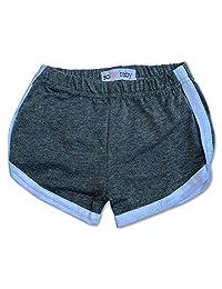 Sol Baby 复古健身短裤 浅灰色