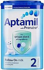 Aptamil 英国爱他美 婴幼儿奶粉 2段 (6-12个月) 900g包邮包税【跨境自营】