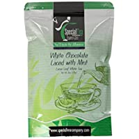 Special Tea Loose Leaf Tea, White Chocolate Laced with Mint Blend, 8 Ounce