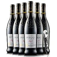 【优红酒酒庄直采】Mont Tauch 法国菲图法定产区AOC进口整箱红酒 橡木桶发酵12个月 菲特瓦干红葡萄酒(wine) (6酒+1海马刀)