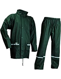 Lyngsoe LR1389-08-XXL 尺码 2XL 微弹夹克和裤子 - 绿色-P 绿色 3X-Large LR1389-08-XXXL
