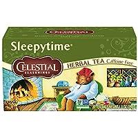 Celestial 调味草本茶 Sleepytime 20 Count (Pack of 6)