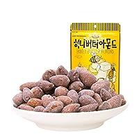 Tom's Farm 汤姆农场 汤姆农场蜂蜜黄油扁桃仁250g(韩国进口)(亚马逊自营商品, 由供应商配送)