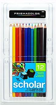 Prismacolor 套装木质彩色铅笔 彩色铅笔 12-Count 多种颜色