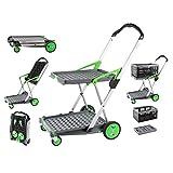 Clax Cart Mobile Folding Cart- Grey