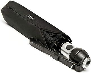 DAVEK DUET UMBRELLA - 超大防风雨伞 自动开合设计 黑色 One_Size