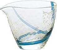 東洋佐佐木玻璃 冷*玻璃壺 藍色 300 毫升 單口 江戶玻璃 八千代窯 日本制造 63700