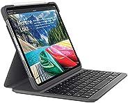 Logitech SLIM FOLIO PRO Backlit Bluetooth Keyboard Case for iPad Pro 11 Inch (Model: A1980, A1934, A1979, A2013, UK English L