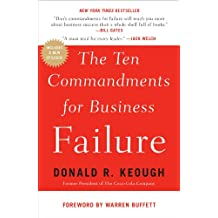 The Ten Commandments for Business Failure (English Edition)