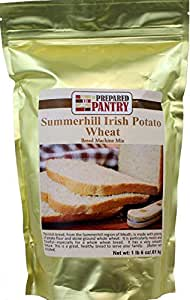The Prepared Pantry Summer Hill Irish Potato Wheat Bread Machine Mix, 22 Ounce (Pack of 20)