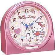 精工表 時鐘 鬧鐘 鬧鐘 模擬 SEIKO 粉色 CQ134P