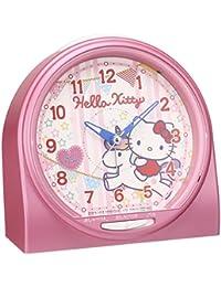 SEIKO 精工 时钟 闹钟 Hello Kitty 语音 模拟 粉色 珍珠 CQ134P SEIKO