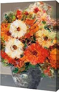 "PrintArt GW-POD-29-BLP265-13x20""完整花朵"" 由 Leslie Bernsen 创作画廊装裱艺术微喷油画艺术印刷品,33.02 cm X 50.8 cm"