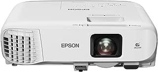 EPSON 爱普生EB-990U 3LCD Mobile projector 1920x1200 16:10 3800 ANSI流明 15000:1 对比度 16W 扬声器