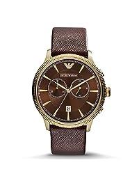 Emporio Armani 安普里奥·阿玛尼 意大利品牌 时尚潮流指针系列 石英手表 男士腕表 金 AR1793