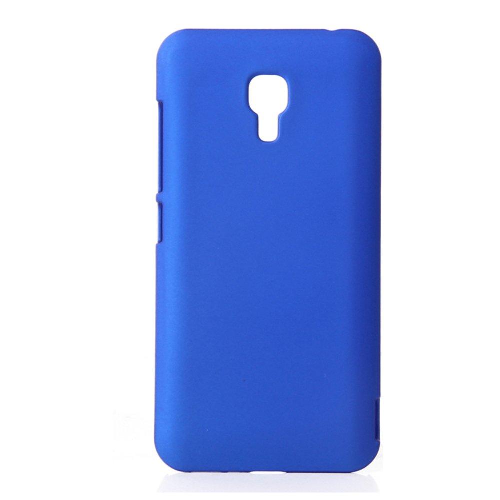 小米 mi2a 果冻 手机保护外壳 2a手机套 小米 m2a 【磨砂硬壳】深蓝色