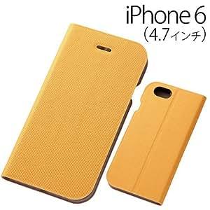 Unique Life 内袋 修身 iPhone6用IN-P6L1/Y 黄色