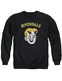 Archie Comics Archie Riverdale 中性成人圆领运动衫男女皆宜