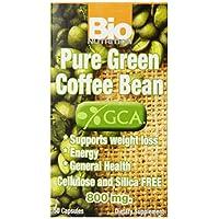 Bio Nutrition - Pure绿色咖啡豆 800 mg。50 胶囊