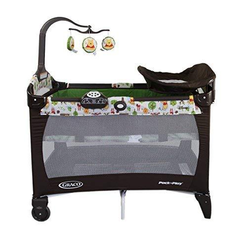 GRACO 葛莱 多功能儿童床 便携儿童音乐游戏床 移动尿布更换台 1920907