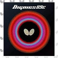 蝴蝶(Butterfly) 乒乓球 橡胶 迪格尼克斯 09C 粘着性 远离 内衬 06070 黑色 厚