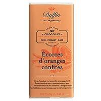 Dolfin 橙子干黑巧克力块 每件70 g (5件装)