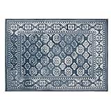 Origin Mazrahi 蓝色地毯,80 x 150
