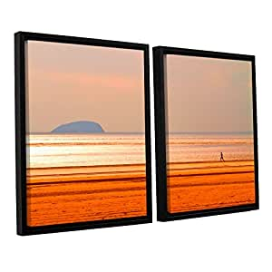 "ArtWall Lindsey Janich '5479Aatop1' 2 Piece Floater Framed Canvas Artwork, 32 by 48"""